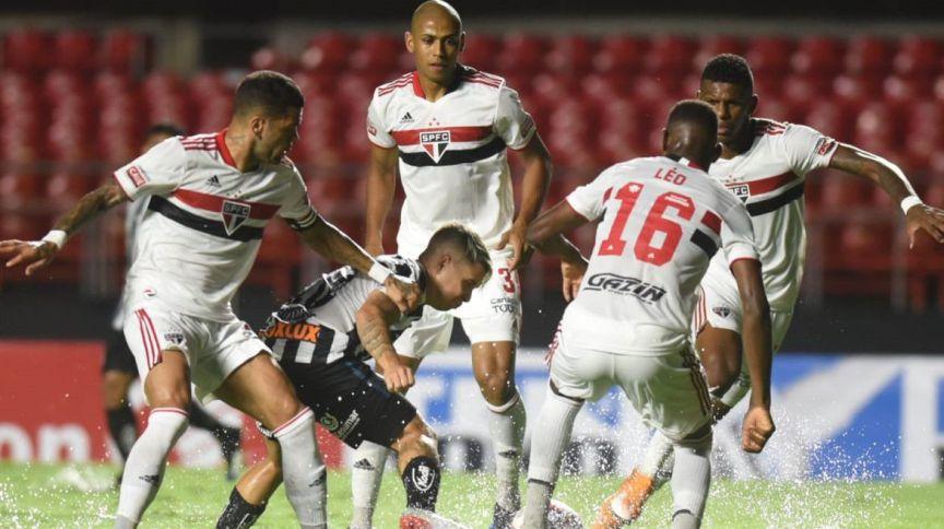 São Paulo enfrentou o Santos no Morumbi pela terceira rodada do Campeonato Paulista