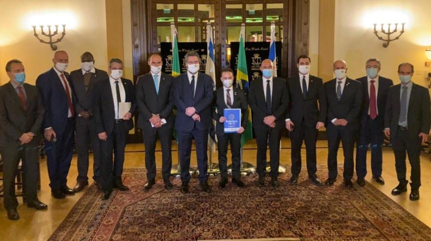 Visita da delegação brasileira a Israel liderada pelo ministro das Relações Exteriores, Ernesto Araújo