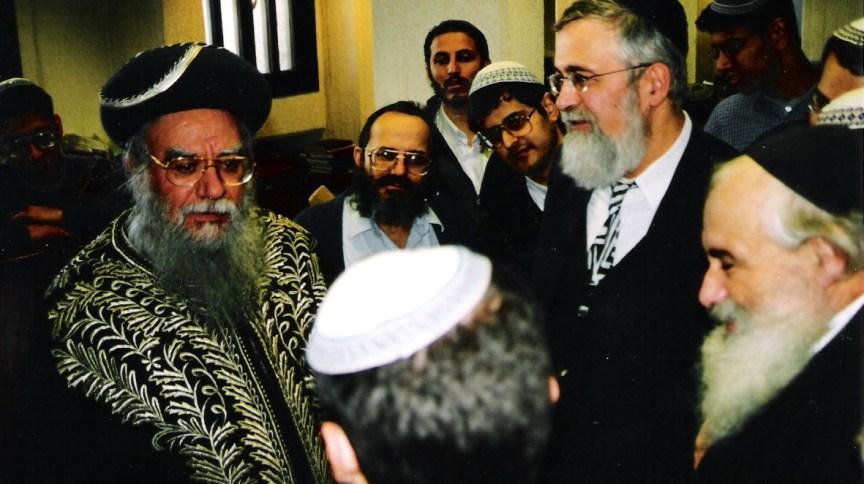 Rabino Eliyahu Bakshi-Doron no Yeshiva Hakotel, em Jerusalém