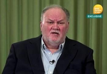 Thomas Markle disse que a filha e o princípe Harry se excederam nas declarações dadas a Oprah Winfrey