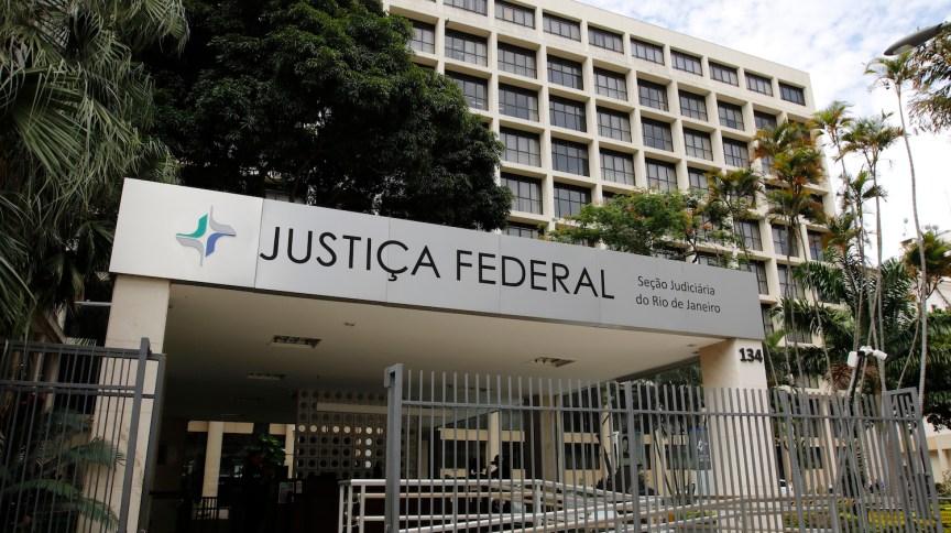 Sede da Justiça Federal no RJ, onde funciona a 7ª Vara Criminal, que julga casos relacionados à Lava Jato no estado