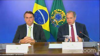 Decisão foi tomada na 15ª reunião do órgão na tarde desta terça-feira (16), em encontro que teve a participação Bolsonaro e Guedes