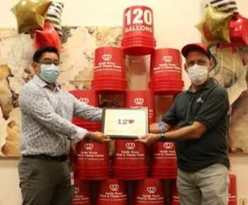 Marcos Perez doou sangue mais de 960 vezes e salvou cerca de 3 mil pessoas no Texas
