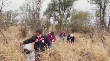 Em fevereiro, 75 mil pessoas entraram sem documentação no país norte-americano pela fronteira com o México
