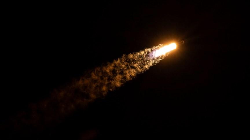 Lançamento do foguete Falcon 9, da SpaceX