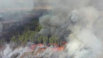 Ambientalistas haviam alertado que o incêndio perto do local do pior desastre nuclear da história, ocorrido em 1986, cria um risco de radiação