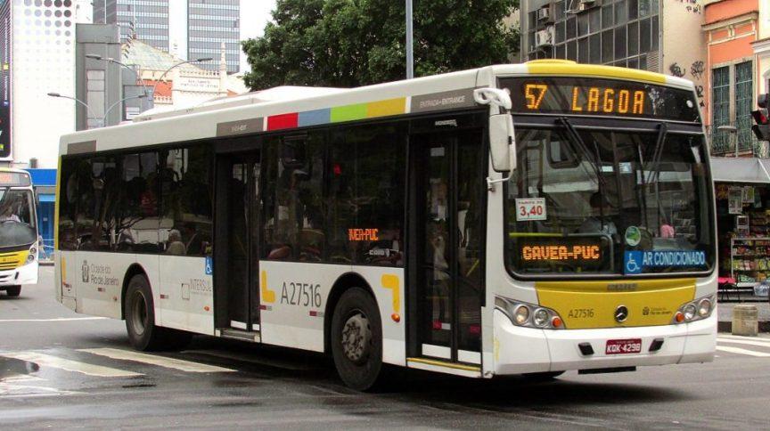 Ônibus da cidade do Rio de Janeiro