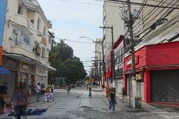Dinâmica em muitas cidades foi afetada durante o feriado pelas medidas de contingência da Covid-19