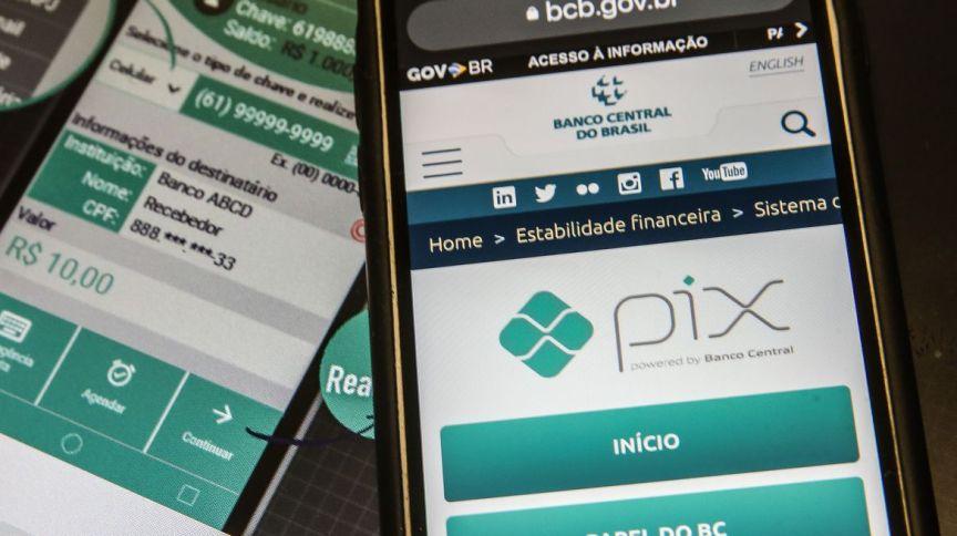 Pix - sistema de pagamento instantâneo
