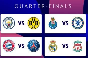 Em outro confronto de destaque, o Real Madrid vai medir forças contra o Liverpool