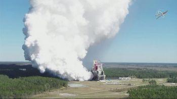 Os propulsores foram testados por oito minutos e atingiram a capacidade e o nível de segurança previstos pela agência
