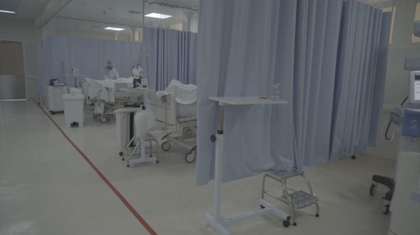 Estrutura de hospitais com leitos de UTI e enfermaria para o tratamento da Covid-19