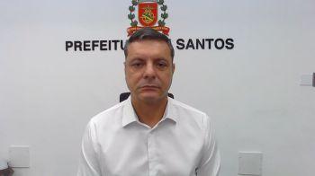 Em entrevista à CNN, prefeito de Santos, Rogério Santos (PSDB), reforçou a importância das novas medidas restritivas na região e pediu colaboração da população