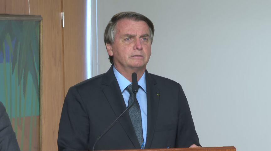 Presidente Jair Bolsonaro (sem partido) durante evento do novo Fundeb (22.mar.2021)