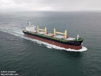 Embarcação saiu do Brasil com 19 tripulantes chineses; autoridades de saúde do país nórdico monitoram o navio diariamente após dez casos positivos