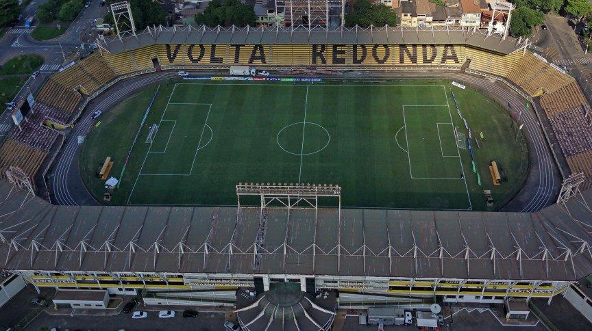 Estádio Raulino de Oliveira (Cidadania), em Volta Redonda, no Rio de Janeiro