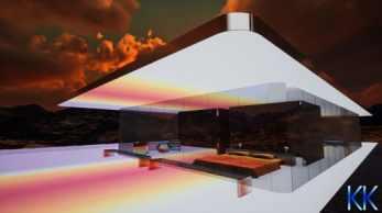 """A Mars House, a primeira casa digital NFT (sigla para """"token não fungível"""") do mundo, foi vendida por mais de US$ 500 mil"""