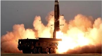 Novas imagens expõem mais detalhes do par de mísseis lançados em exercício militar e o seu potencial ofensivo
