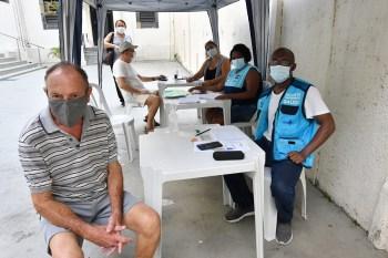 Mais de 7 mil idosos institucionalizados foram imunizados com as duas doses da vacina contra a Covid-19 na cidade do Rio de Janeiro