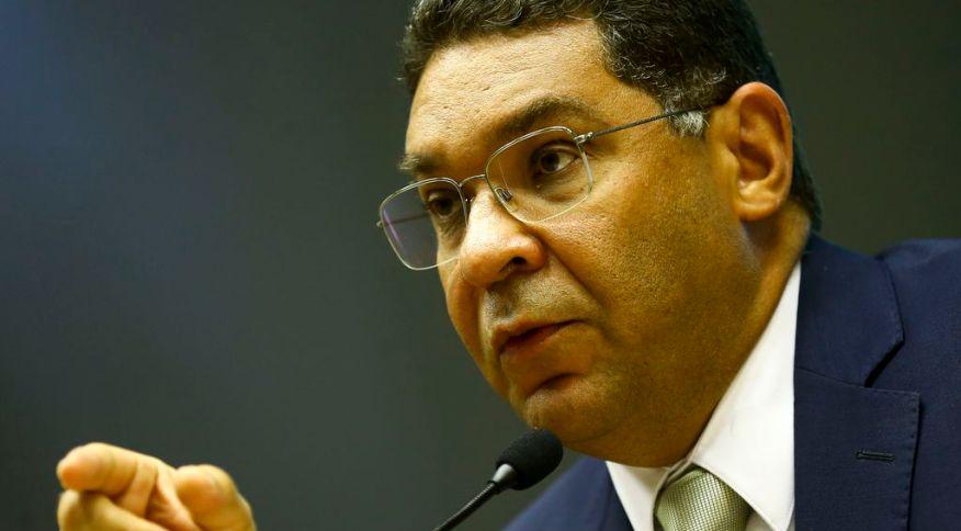 O secretário do Tesouro Nacional, Mansueto Almeida, durante entrevista coletiva para comentar o Resultado Primário do Governo Central de janeiro. 27 de fevereiro de 2020.