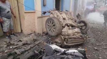 O ataque em Corinto deixou 43 pessoas feridas, incluindo 11 autoridades públicas