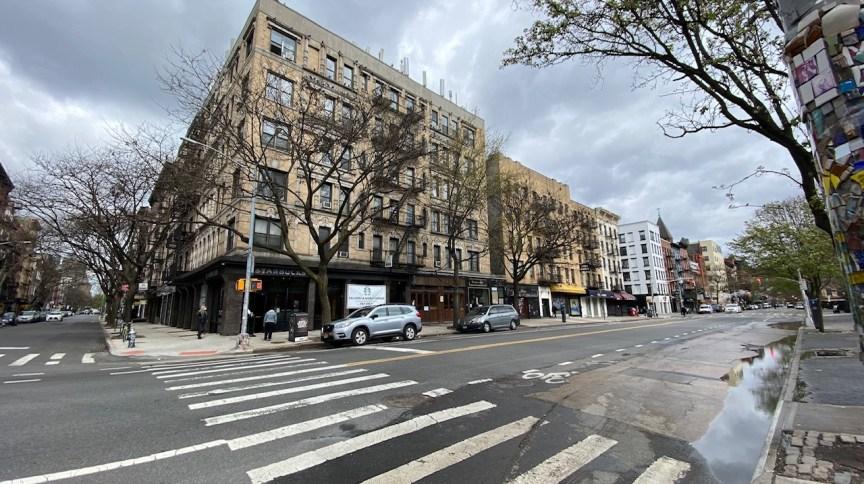 Ruas vazias em Nova York durante crise do novo coronavírus