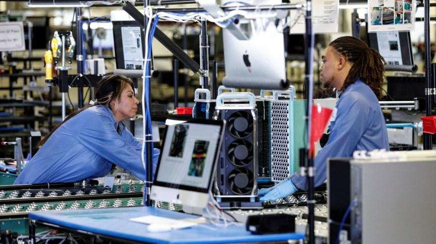 Fábrica de computadores em Austin, no Texas, EUA