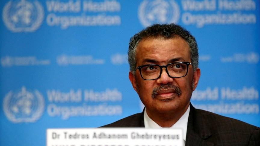 Tedros Adhanom, diretor-geral da Organização Mundial da Saúde