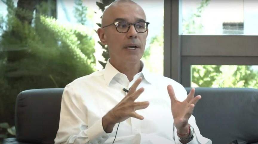Sérgio Rial fala em live promovida pelo banco Santander (15.abr.2020)