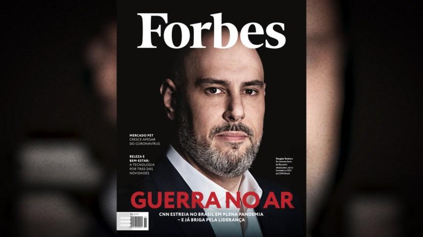 """CNN Brasil é assunto de capa da revista """"Forbes"""""""