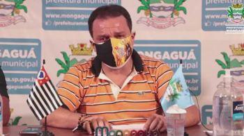 Márcio Melo Gomes (Republicanos) se emocionou ao responder a ataques em uma transmissão ao vivo