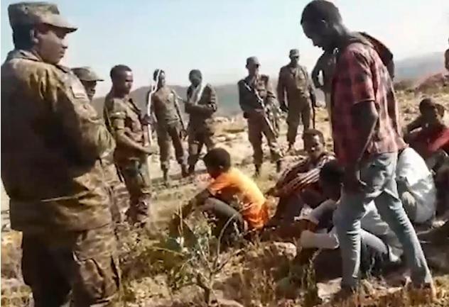 Exército Etíope comandou um massacre que deixou de dezenas de homens mortos em Tigray