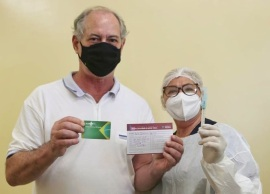 Além do ex-ministro, a capital do Ceará espera vacinar cerca de 30 mil pessoas entre 62 e 63 anos até o fim deste sábado (3)