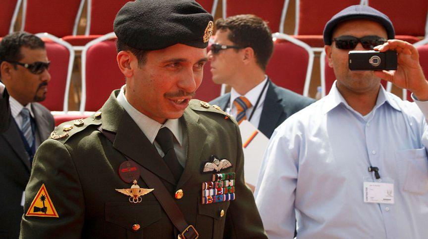Ex-príncipe herdeiro da Jordânia, Hazam bin Hussein