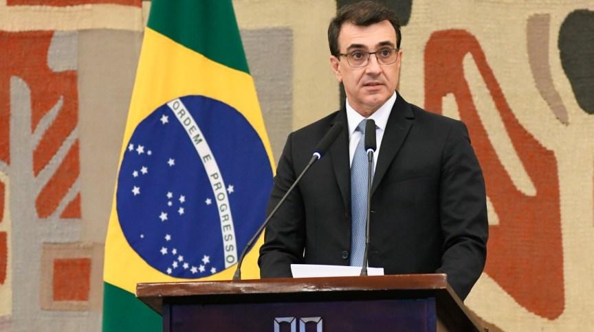O ministro das Relações Exteriores, Carlos Alberto França