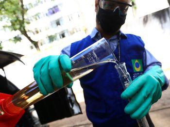 Na comparação mensal, o preço médio do biocombustível no Brasil subiu 3,57%