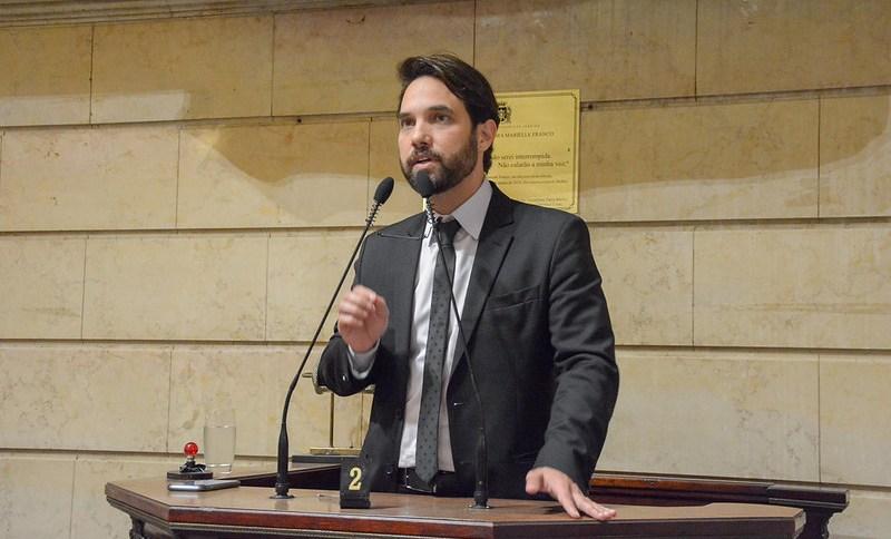 Doutor Jairinho na Câmara Municipal do Rio de Janeiro