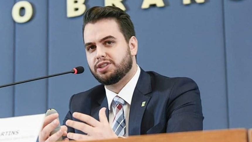 Filipe Martins, assessor especial da Presidência