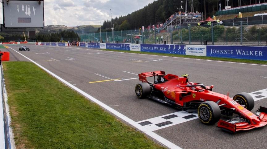 Equipe Ferrari de Fórmula 1 (01.set.2019)
