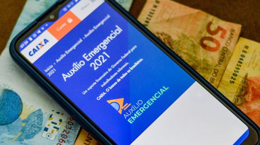 Começam os pagamentos do auxílio emergencial 2021