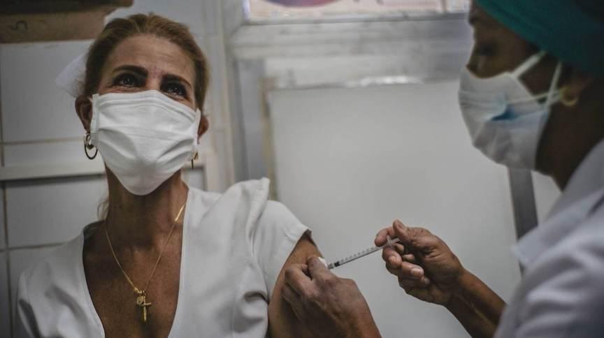 Teste em massa de vacina em Cuba (10 abril 2021)