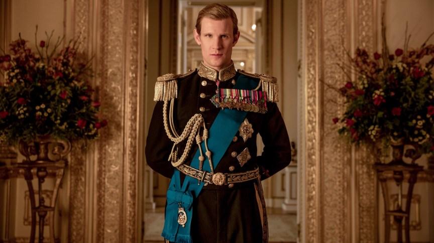 Matt Smith interpretou um jovem príncipe Philip na série da Netflix