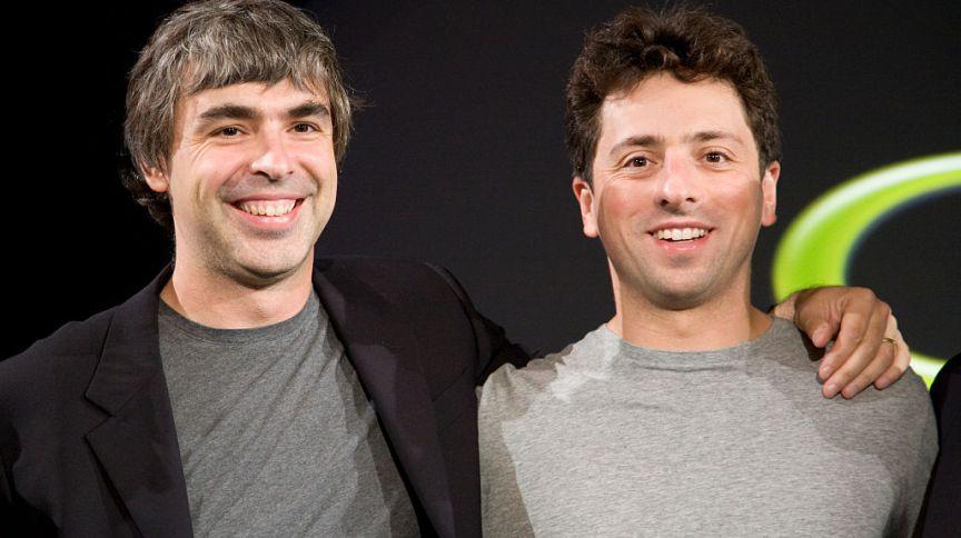 Larry Page e Sergey Brin se tornaram centibilionários