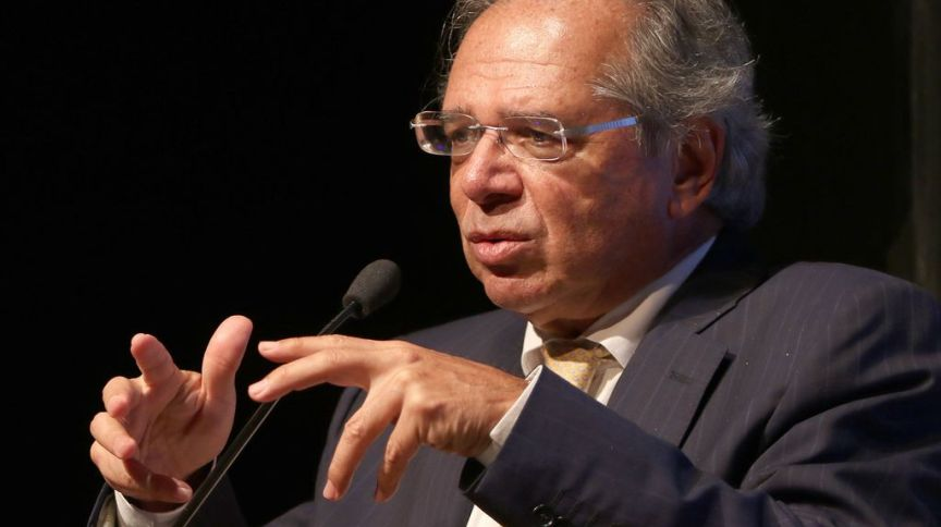 O ministro da Economia, Paulo Guedes (12.fev.2020)