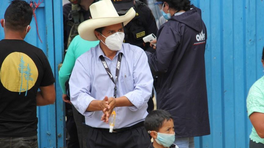 Com 95% das urnas contabilizadas, o socialista Pedro Castillo lidera votação presidencial no Peru