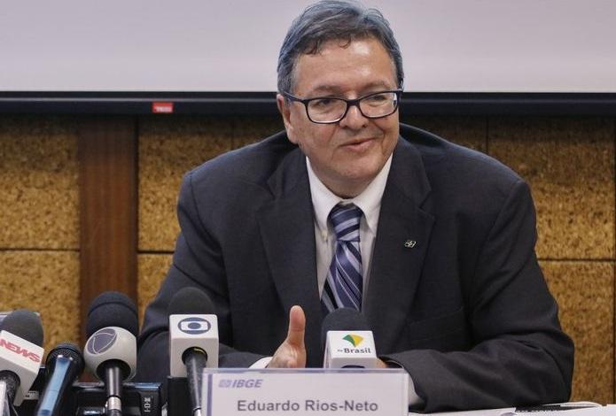 Eduardo Rios Neto foi escolhido para comandar o IBGE