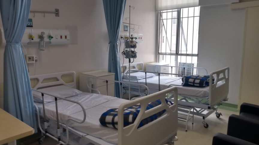 Leito no Hospital Municipal Bela Vista: prefeitura de São Paulo entregou 124 leitos, sendo 29 de UTIs
