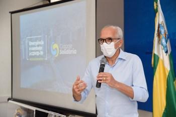 Em entrevista à CNN Rádio, Edvaldo Nogueira também comemorou a chegada de medicamentos do 'kit intubação'