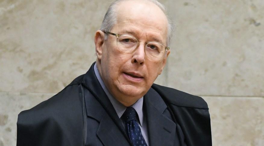 O ministro Celso de Mello, do STF