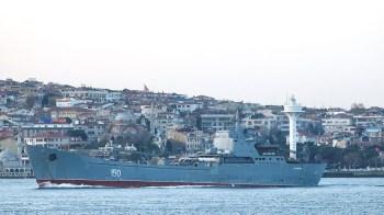 Moscou reforça presença naval a caminho do Mar Negro em meio a momento de tensões com o Ocidente e com a Ucrânia